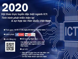 THÔNG CÁO BÁO CHÍ HỘI THẢO TRỰC TUYẾN VỀ NGÀNH ICT NĂM 2020
