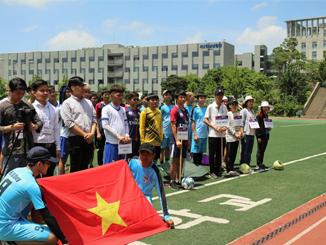 Đầy hứng khởi cùng Lễ khai mạc vòng loại Đại hội thể dục thể thao sinh viên Việt Nam tại Hàn Quốc lần thứ 11