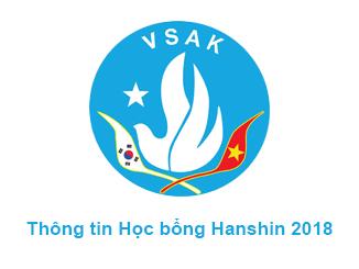 Thông tin học bổng Hanshin 2018