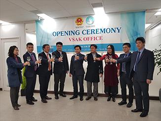 Tưng bừng khai trương Văn phòng Hội sinh viên Việt Nam tại Hàn Quốc