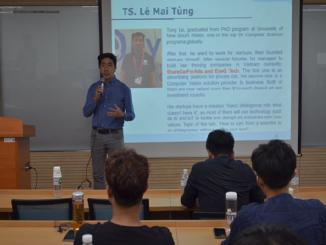 Buổi giao lưu trò chuyện của các du học sinh tại Hàn Quốc với các nhà sáng lập, CEO start-up từ Việt Nam