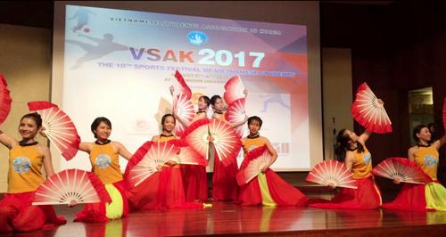 Sôi nổi Đại hội thể dục thể thao sinh viên Việt Nam tại Hàn Quốc năm 2017